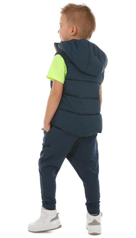 cd61f1d23e12 chlapčenské baggy nohavice modré. skladom