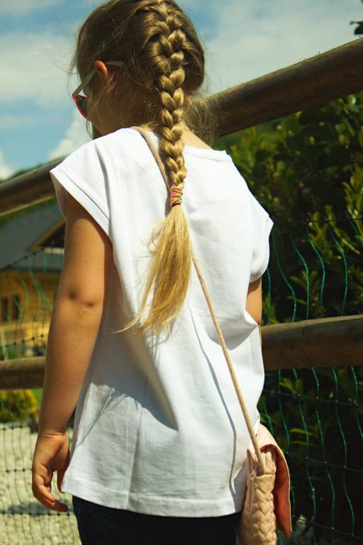 d5bb806ffb1a dievčenské tričko-tunika LOSAN. skladom