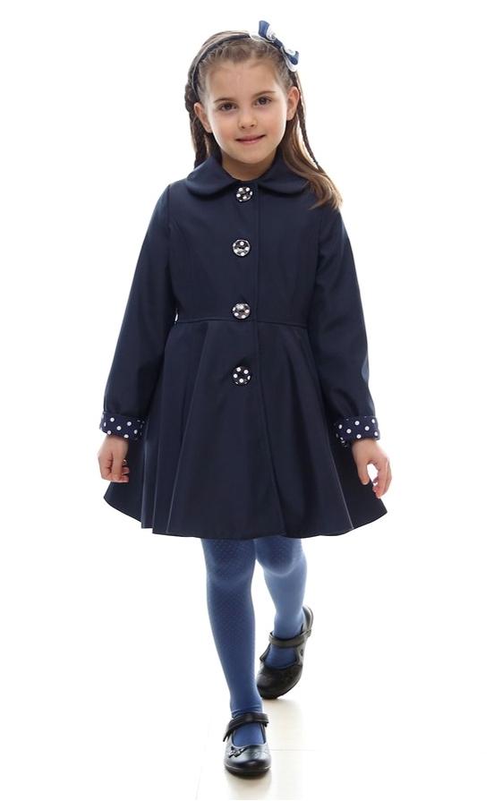 dievčenský jarný kabát POLLY červená. skladom 06430acfc6c