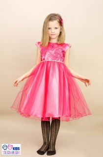 b93864017e3b dievčenské slávnostné šaty ARADIA ružová MINI empty