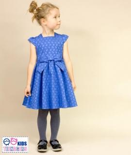 da807338e836 dievčenské sviatočné šaty EVITA modré MINI empty