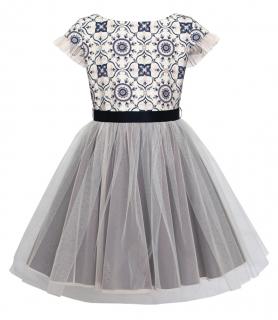 dievčenské sviatočné šaty ROSANA empty 77777e7d505