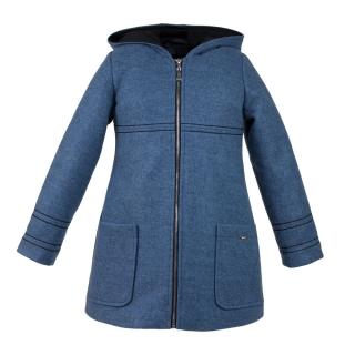 1df99113f945 dievčenský zimný kabát PEGGY modrý ...