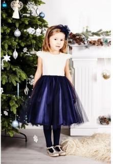 ad8aa405b57d dievčenské sviatočné tylové šaty LAURA empty
