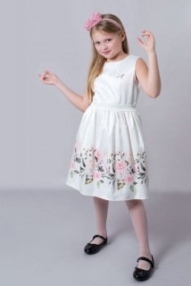 8acca1a3a091 detské šaty s kvetmi empty