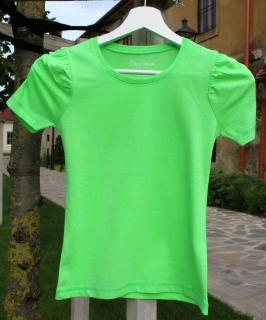 0b6cb93938ba dievčenské tričko BLUE SEVEN zelené empty