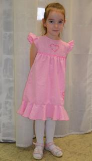 dievčenské šaty TULEC TREND empty c451a93766e
