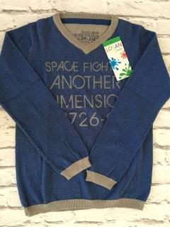 ddf4a39b6d98 chlapčenský pulover LOSAN svetlomodrý empty