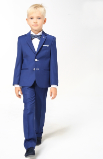 5e7acde657dd detský elegantný oblek KOBALT WHITE 92-116 empty