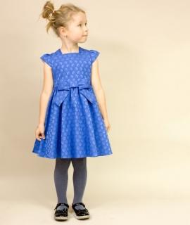 dievčenské sviatočné šaty EVITA modré empty 91e4438fcae