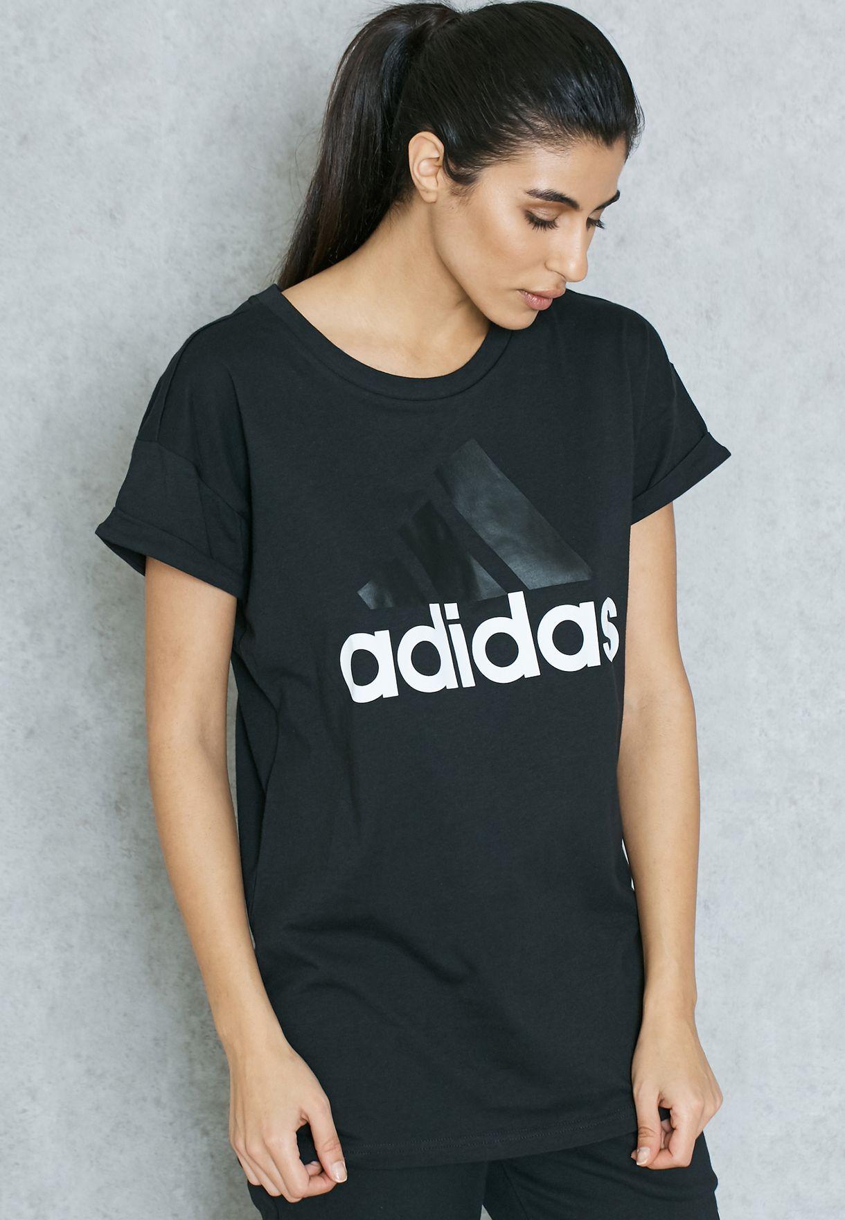 Adidas tričko ESS Linear LO S97222 496646a8074