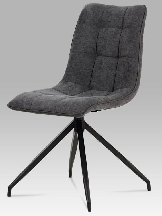 88051587073c AUTRONIC Jedálenská stolička HC-396 GREY2 sivá