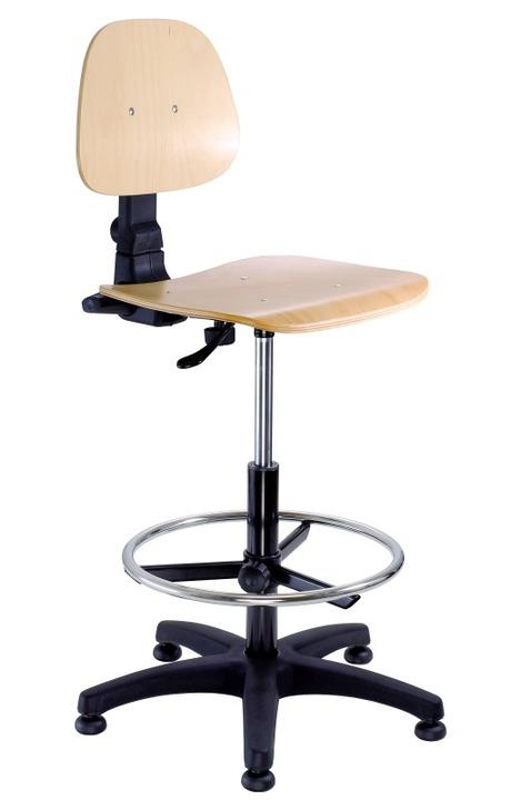 6a3f460911be ALBA Pracovná stolička EKO DREVO