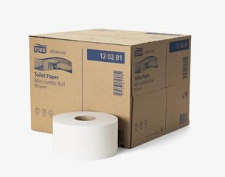 Tork Advanced toaletný papier - Mini Jumbo rola