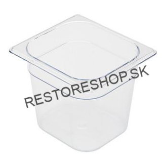 Gastronádoba Food Pan 1,6litr. 1/6 100mm Rubbermaid