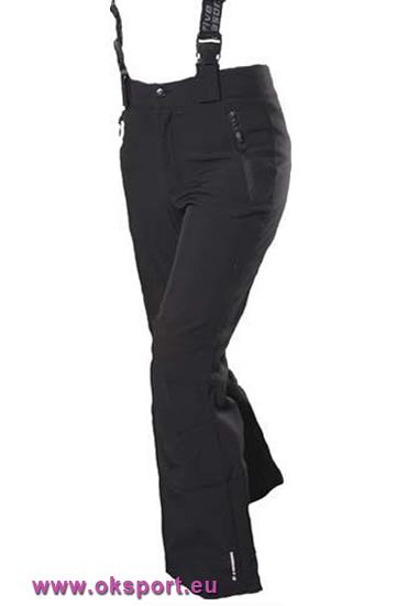 7696220f9358 Dámske lyžiarské softshellové nohavice Five Seasons Admont čierne