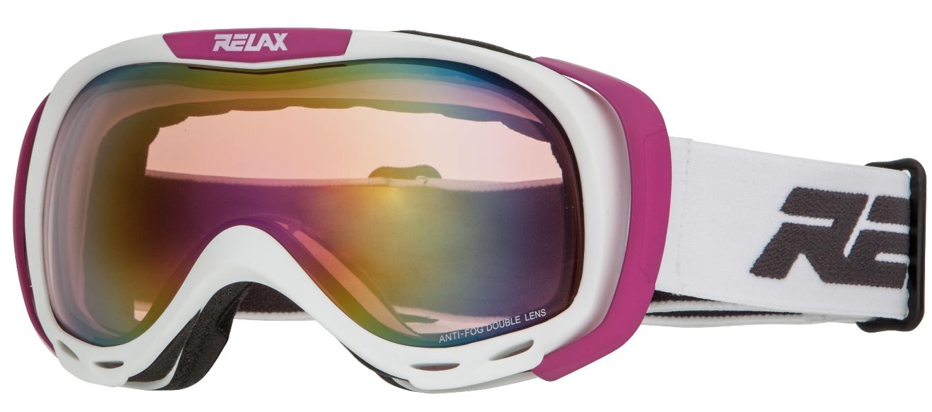Lyžiarske okuliare Relax Airflow HTG22L biele 2015 16 818796de473