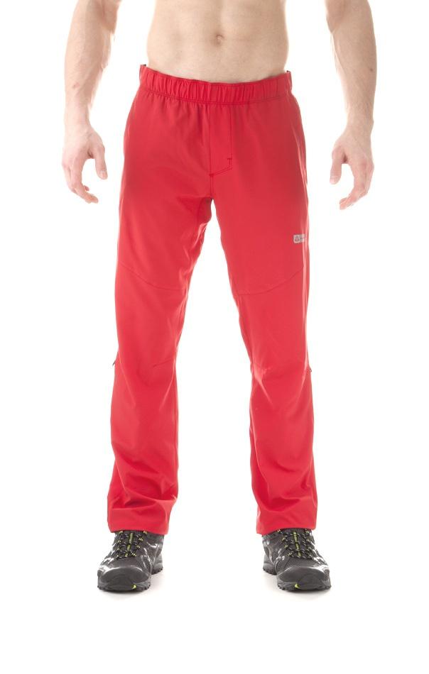 6c52b4fcd169 Pánske outdoorové nohavice Nordblanc Flex NBSPM5522 - červená