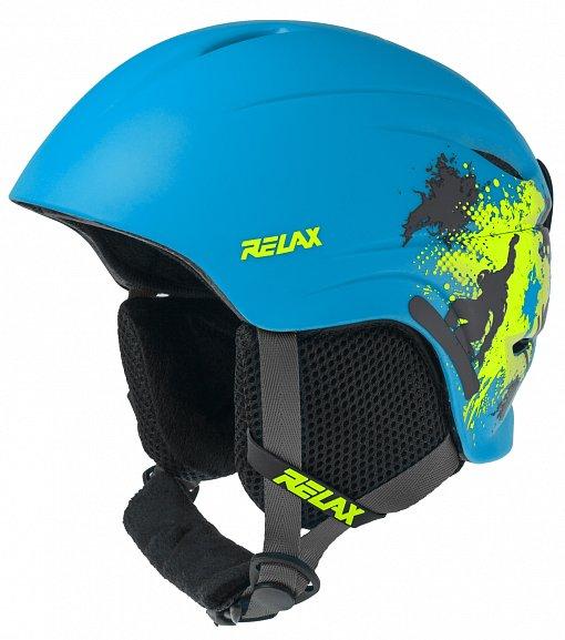 Detská lyžiarska prilba Relax Twister RH18N modrá aec031b33d9