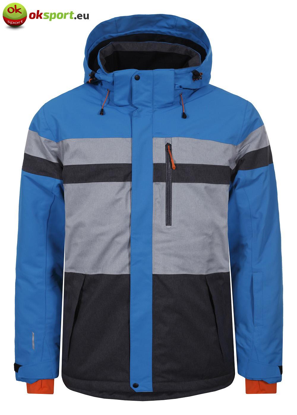 Icepeak Ken 56228-330 pánska zimná bunda modrá šedá 01e9513b86f