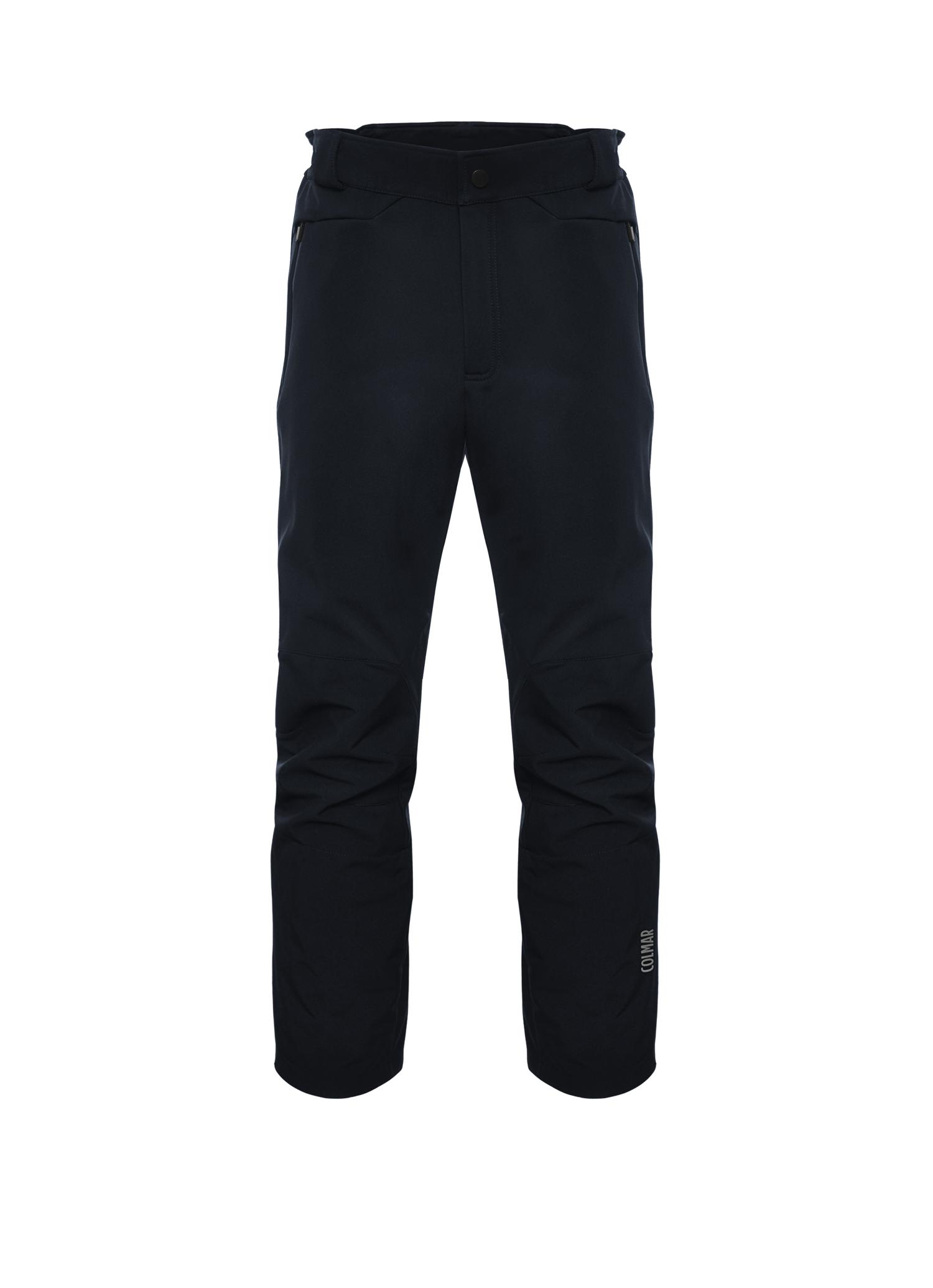 0c42637f6cea Colmar 0166G pánske lyžiarske softshellové nohavice čierne