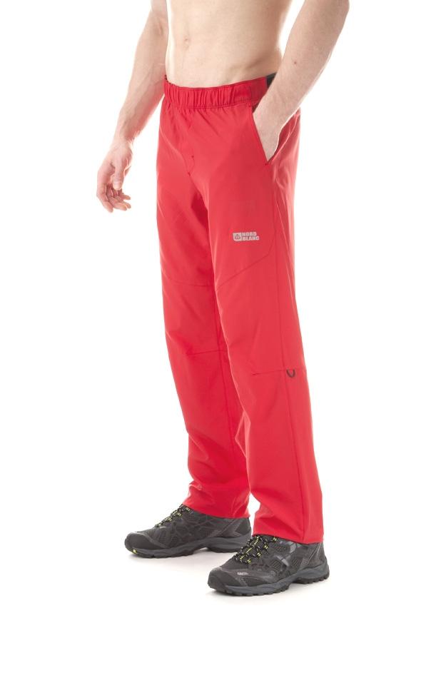 9e7b6df4789e Pánske outdoorové nohavice Nordblanc Flex NBSPM5522 - červená