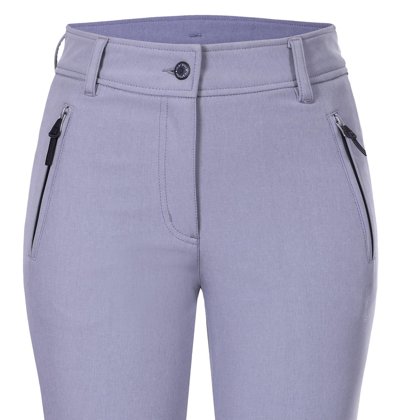 2b187fc06fa6 Dámske softshellové nohavice Icepeak Outi 54101-810 svetlo sivé
