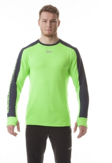 8d393633d853f Pánske funkčné tričko s dlhým rukávom Nordblanc Sling 5893 neón. zelená  empty