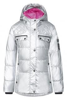 Dievčenské zimná bunda Icepeak Nichelle JR strieborná empty 8a53d943caa