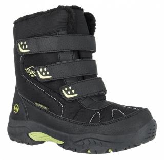 1a63cf7249 Detská zimná obuv Loap Frost Kid čierna zelená empty