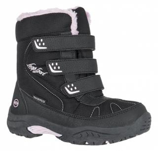 e7f6cabc2 Detská zimná obuv Loap Frost Kid čierna/ružová empty