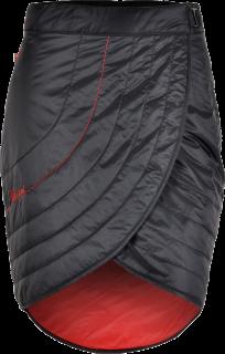 43709b4f9f06 Dámska primaloftová sukně Silvini BALLONE WS1106 čierna červená empty