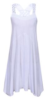 Letné šaty Luhta Annukka 39231-980 biele empty 1c7f92bd0d