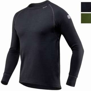 Pánske termo triko Devold Expedition Man Shirt BLACK empty 31b3454ce38