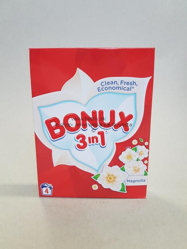 Bonux praci prášok 300g 4PD color (BONUX PRACI PRášOK 300G 4PD COLOR)