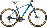 "CUBE AIM Race 2021 modro /zelený disc 29"" XL-21"" 401410-211"