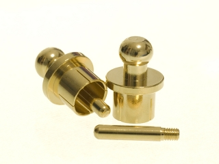 RCA Termination Caps - gold plated