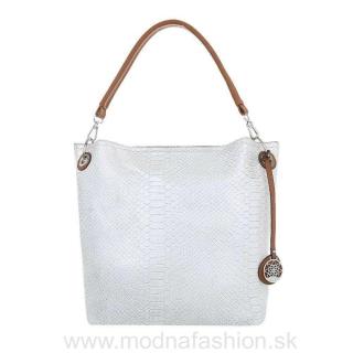Dámska kabelka na rameno 24 biela perleť empty d0287d50ac8