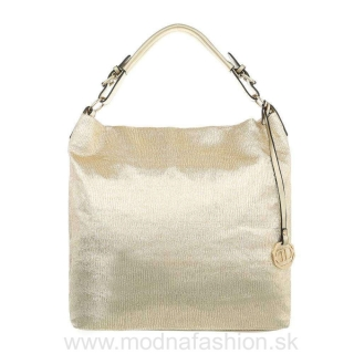 Dámska kabelka na rameno 22 zlatá empty a5a89231d2d
