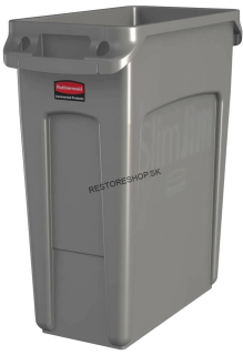 Kôš SLIM JIM 60l Rubbermaid béžový